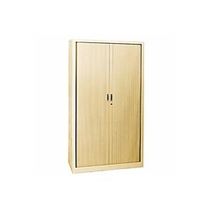 Armoires - Armoire rideaux beige 195x120x46