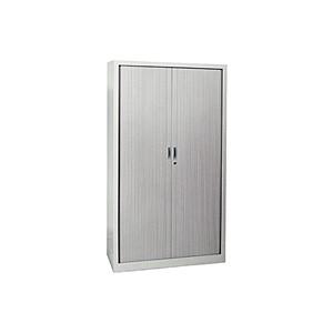 Armoires - Armoire rideaux grise 180x100x40