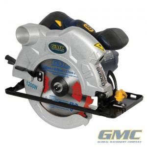 Scie circulaire 165 mm 1 200 W GMC
