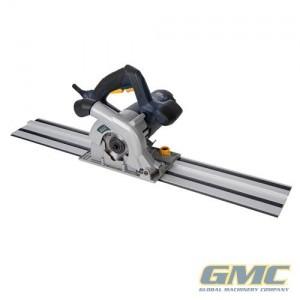 scie  circulaire plongeante compacte mm avec kit rail de guidage gmc