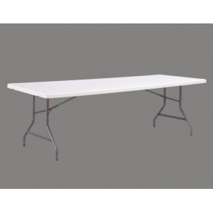 Table pliante rectangle 240cm x 90cm