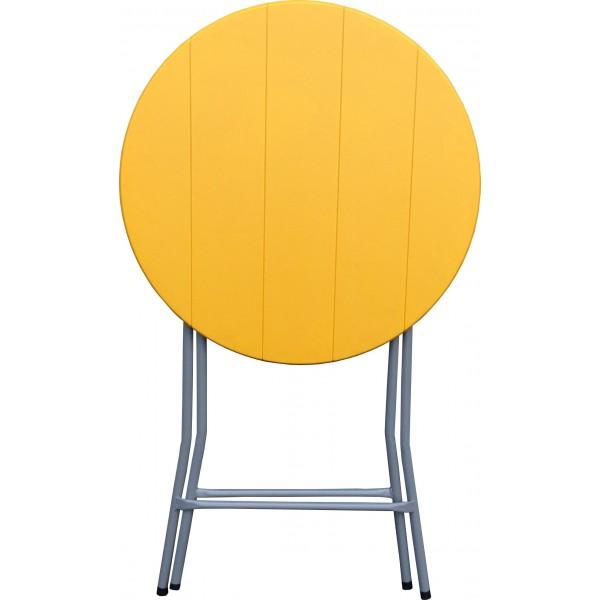table pliante ronde diam tre 80 cm. Black Bedroom Furniture Sets. Home Design Ideas