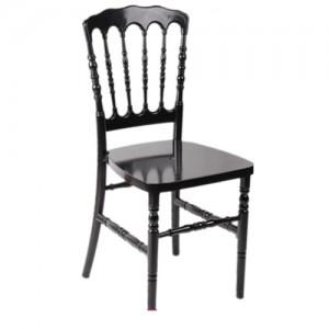 Chaise Napoléon Résine noire