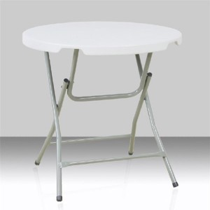 Table pliante ronde, diamètre 80cm