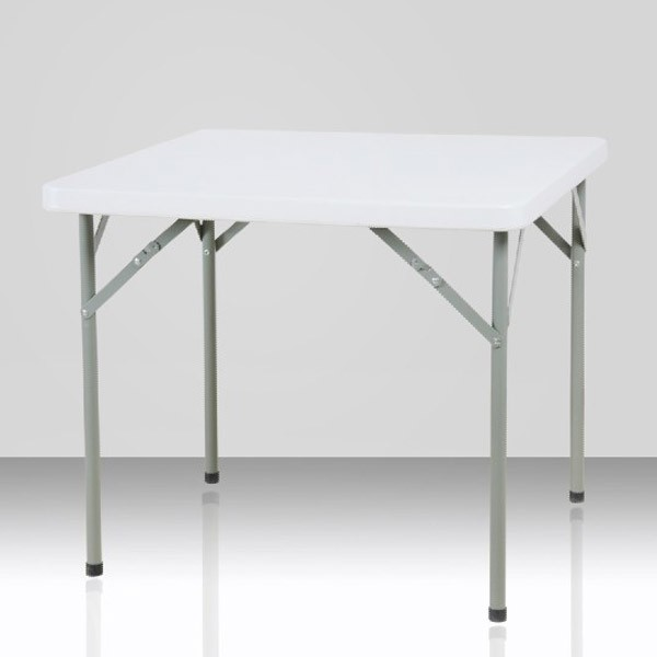 Table pliante carr e 2 4 personnes - Table de reception pliante occasion ...