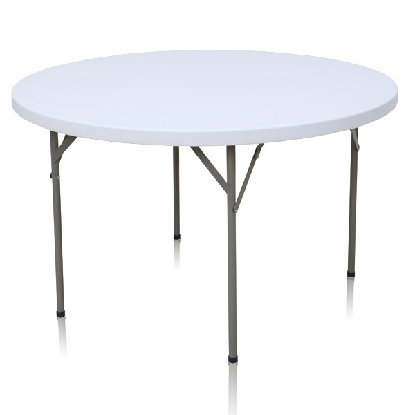 Table pliante ronde diam tre 122cm for Table cuisine ronde pliante