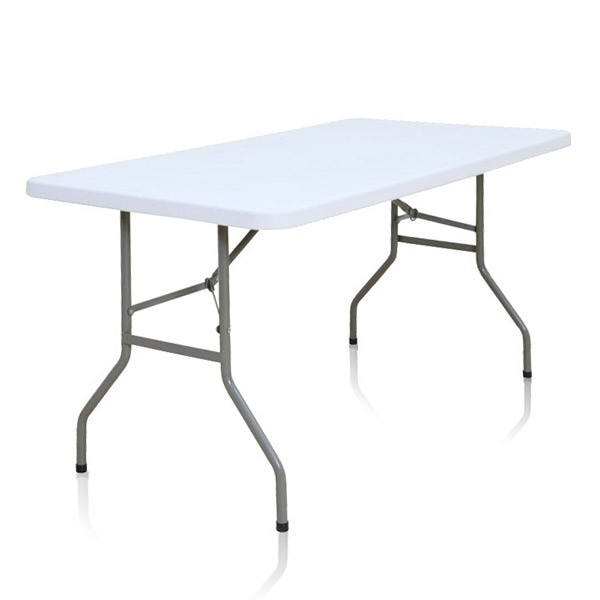 Table pliante rectangle 183cm x 76cm for Pietement de table pliante