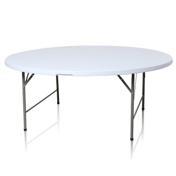 Table pliante ronde diam tre 183 cm pliante en malette - Tables rondes pliantes ...