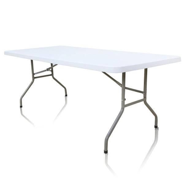 Table pliante rectangle 8 personnes for Table largeur 85 cm