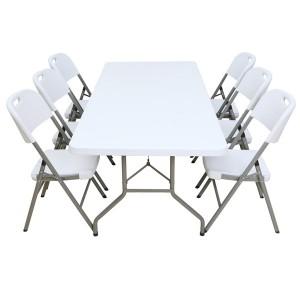 Table pliante rectangle 200cm x 90cm