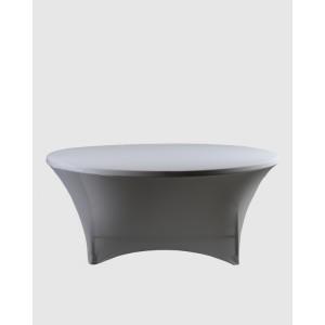 Housse spandex pour table pliante ronde diam tre 180 cm - Table ronde 180 cm diametre ...