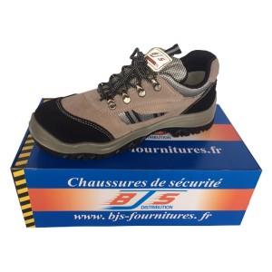 Chaussures de sécurité Cuir / Velour 001