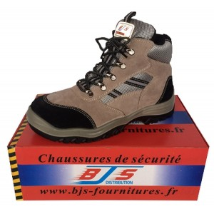 Chaussures de sécurité Cuir / Velours 002