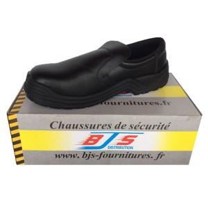 Chaussures de sécurité : sandales en cuir