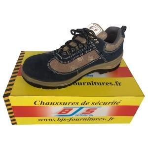 Chaussures de sécurité Cuir / Velours 010