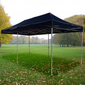 Tente pliante Alu 3m x 6m + Toit - structure hexagonale 40mm