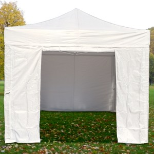 Mur porte pour tente pliante, longueur 3m