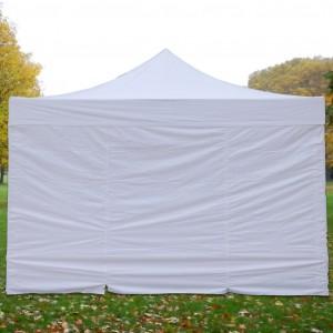 Mur plein pour tente pliante, longueur 4m