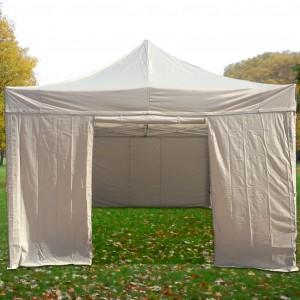 Mur porte pour tente pliante, longueur 4m