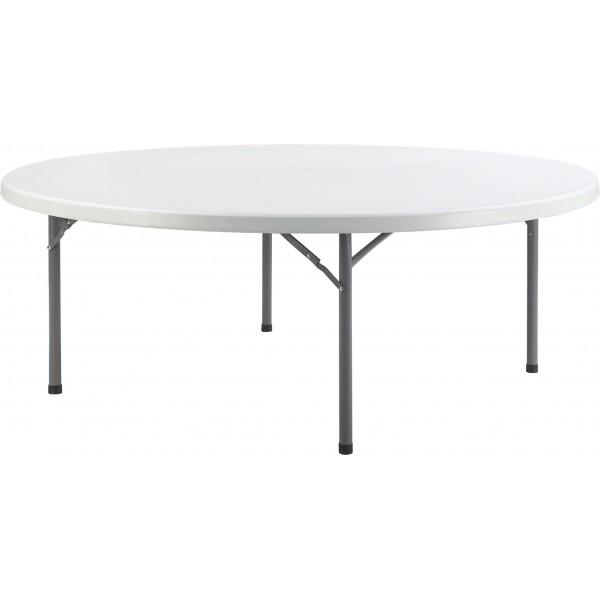 Table pliante ronde diam tre 200 cm bjs fournitures - Tables rondes pliantes ...