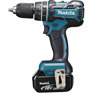 Perceuse visseuse à percussion MAKITA 18 V Li-ion 4 Ah Ø 13 mm