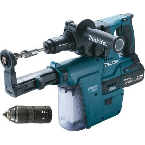 Perfo-burineur SDS-Plus MAKITA 18 V Li-Ion 4 Ah 24 mm