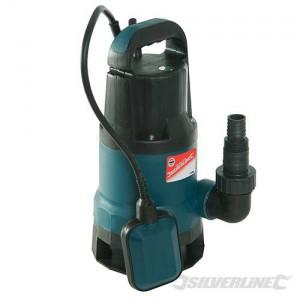 Pompe à eau sale submersible SILVERLINE 550 W