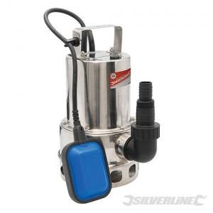 Pompe submersible pour eaux usées SILVERLINE 550 W