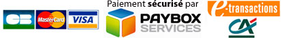 Paiement securise avec Paybox du credit agricole